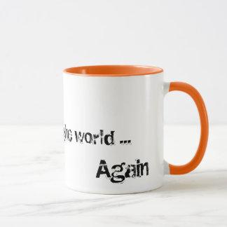 世界のマグの端 マグカップ