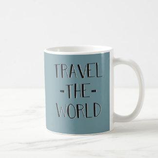 世界のマグは移動します コーヒーマグカップ