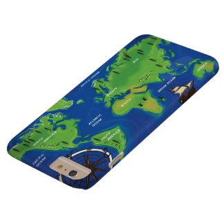 世界のヴィンテージの地図 BARELY THERE iPhone 6 PLUS ケース