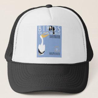 世界のヴィンテージWPAカバー芸術の鳥 キャップ