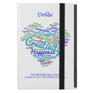 世界の人形日の2016年のiPadのタブレットカバー iPad Mini ケース
