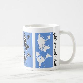 世界の伝染性旅行 コーヒーマグカップ