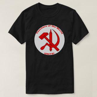 世界の先生は、結合します! Tシャツ