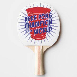 世界の卓球ラケットのビールPongのチャンピオン ピンポンラケット