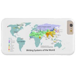 世界の図表の書記体系の地図 BARELY THERE iPhone 6 PLUS ケース