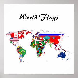 世界の国旗ポスター ポスター