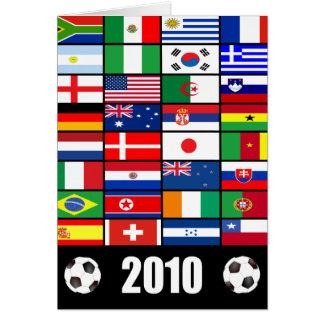世界の国旗2010年 カード