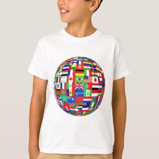 世界の国旗 Tシャツ