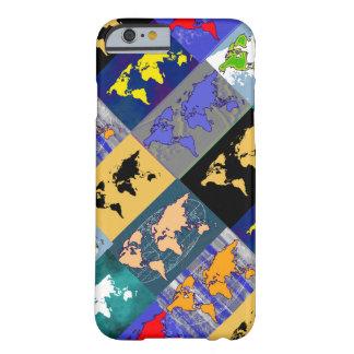 世界の地図書 BARELY THERE iPhone 6 ケース