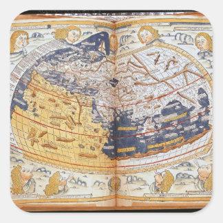 世界の地図、1486年 スクエアシール