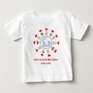 世界の子供 ベビーTシャツ