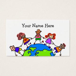 世界の子供 名刺