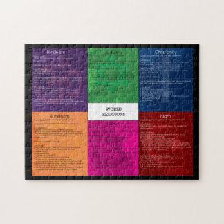世界の宗教のパズル ジグソーパズル