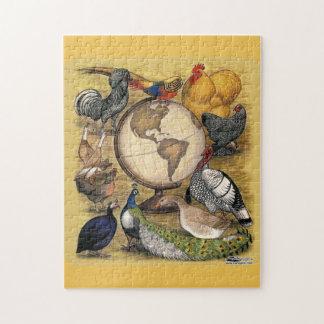 世界の家禽 ジグソーパズル