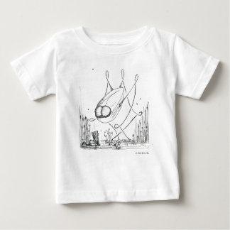 世界の戦争はリミックスします: 友人はあろう ベビーTシャツ