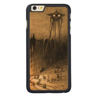 世界の戦争 CarvedメープルiPhone 6 PLUS スリムケース