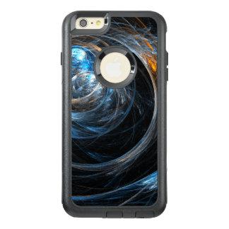 世界の抽象美術の通勤者のまわり オッターボックスiPhone 6/6S PLUSケース