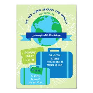 世界の招待状のまわり カード