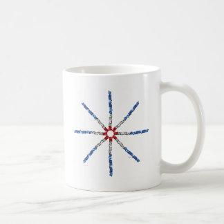 世界の政府無し コーヒーマグカップ
