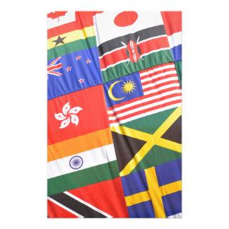 世界の旗 便箋