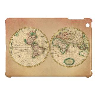 世界の旧式な地図 iPad MINIケース
