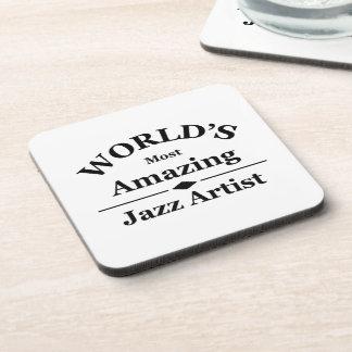 世界の最もすばらしいジャズ芸術家 コースター