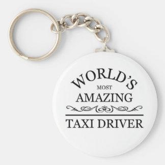 世界の最もすばらしいタクシー運転手 キーホルダー