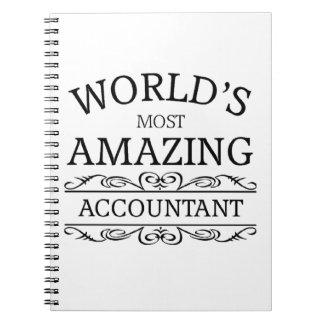 世界の最もすばらしい会計士 ノートブック