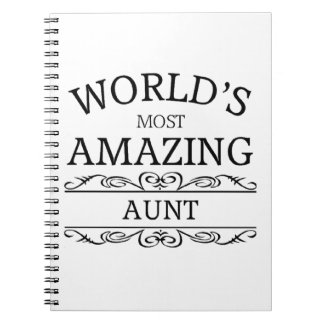 世界の最もすばらしい叔母さん ノートブック