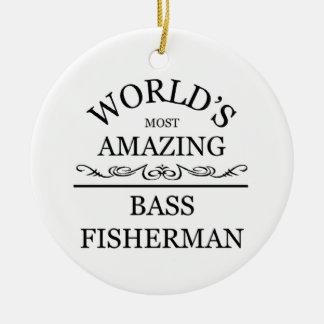 世界の最もすばらしい漁師 セラミックオーナメント