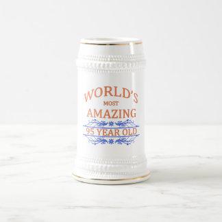 世界の最もすばらしい95歳 ビールジョッキ
