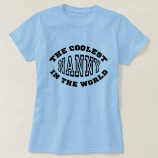 世界の最もクールな乳母 Tシャツ