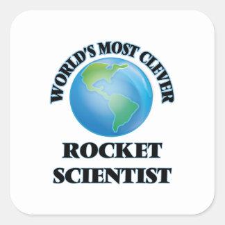 世界の最も利発なロケットの科学者 スクエアシール