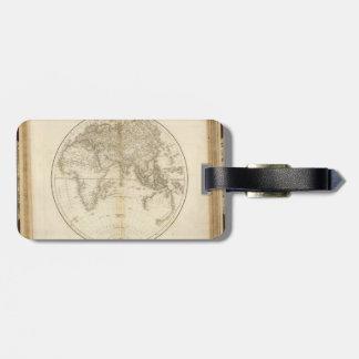 世界の最も古い地図 ラゲッジタグ