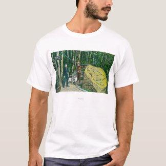 世界の最も大きい金塊の眺め Tシャツ