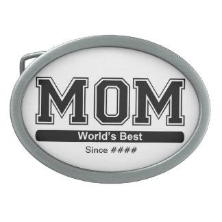 世界の最も最高のなお母さんのベルトの留め金 卵形バックル