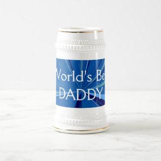 世界の最も最高のなお父さんビールステイン ビールジョッキ