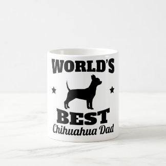 世界の最も最高のなチワワのパパ コーヒーマグカップ
