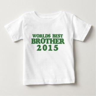 世界の最も最高のな兄弟2015年 ベビーTシャツ