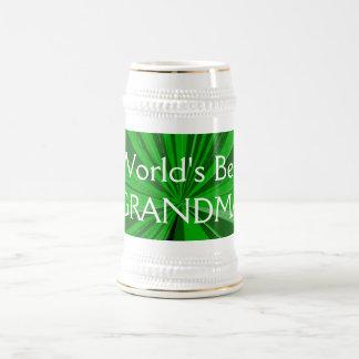 世界の最も最高のな祖母ビールステイン ビールジョッキ
