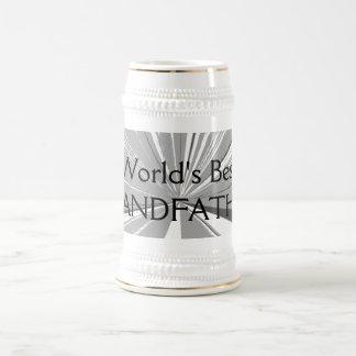 世界の最も最高のな祖父ビールステイン ビールジョッキ