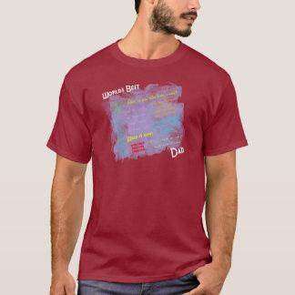世界の最も最高のなDadismのワイシャツ Tシャツ