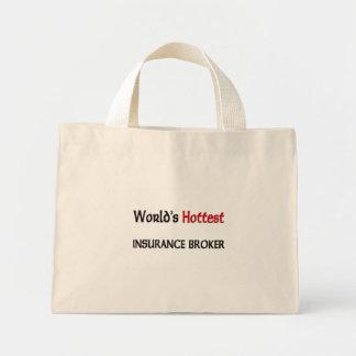世界の最も熱い保険仲介人 ミニトートバッグ
