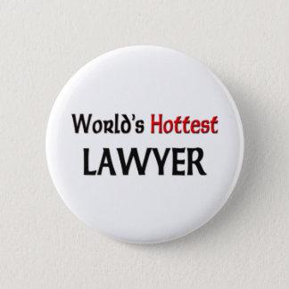 世界の最も熱い弁護士 缶バッジ