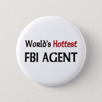 世界の最も熱いFBI捜査官 5.7CM 丸型バッジ
