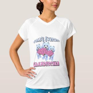 世界の最も甘い祖母の母の日のギフト Tシャツ