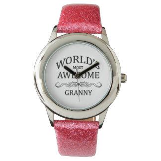世界の最も素晴らしいおばあさん 腕時計