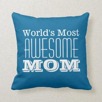 世界の最も素晴らしいお母さん文字のデザイン クッション
