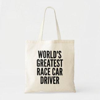世界の最も素晴らしいカーレースの運転手 トートバッグ