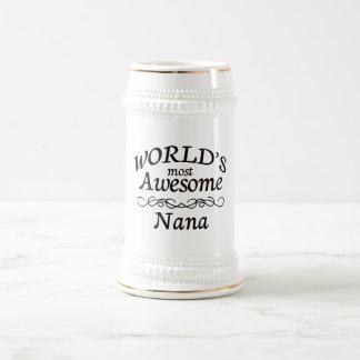 世界の最も素晴らしいナナ ビールジョッキ